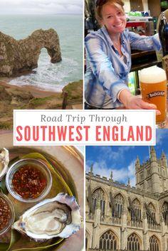 Road Trip through Southwest England - Bristol, Bath, Salisbury, Devon, Dorset.