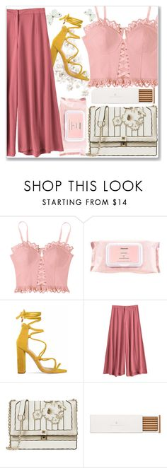 """""""Unique and simple"""" by nerma10 ❤ liked on Polyvore featuring Mamonde, Faber-Castell, yellow, simple, Unique, PinkTop and wetwipes"""