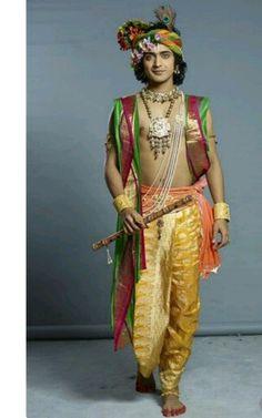 Sumedh Mudgalkar as Krishna in serial Radha Krishna / Star Bharat / ( Radha Krishna Holi, Radha Krishna Love Quotes, Cute Krishna, Radha Krishna Pictures, Krishna Photos, Krishna Art, Radhe Krishna, Shree Krishna Wallpapers, Radha Krishna Wallpaper