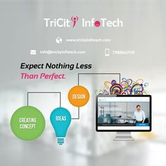 www.tricityinfotech.com is one of the best Website Designing and Web Development Company in India from Chandigarh providing Responsive , creative and customized website designing services.  We are leading Web design Company offering unmatched  web design Services in Chandigarh, Mohali, Panchkula  at an affordable cost.