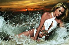 Lischen Botes for Sports Illustrated, the 2007 Swimwear edition in the island of Pangkor Laut, Malaysia.