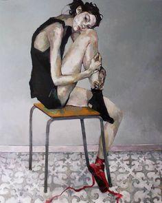 "Amirreza Pirbastami on Instagram: "": #Ingebjørg_Frøydis_Støyva @ingebjorgstoyvaart ""The Red Shoes"" acrylic on canvas #painting"" Bergen, Affordable Art Fair, Painted Shoes, Red Shoes, Traditional Art, Painting Inspiration, Illustration Art, Art Illustrations, Artsy"