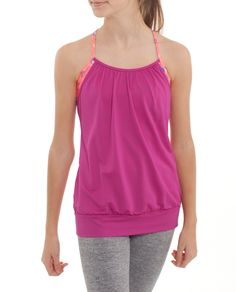 Mesh fabric keeps you feeling breezy while you work up a sweat   Double Dutch Tank