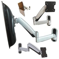LED LCD Plasma Wandhalterung mit Gasfeder schwenkbar neigbar Halter VESA 75 100 in TV, Video & Audio, TV- & Heim-Audio-Zubehör, TV-Wandhalterungen | eBay