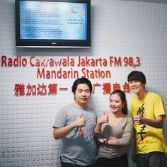 Had so much fun at Radio Cakrawala Jakarta tonight Thanks for hav