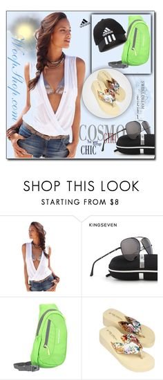 """""""WoopShop.com 9"""" by ozil1982 ❤ liked on Polyvore featuring adidas"""