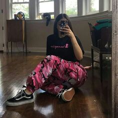 "90 Likes, 1 Comments - BADDIE SHOP (@baddiedepop) on Instagram: ""Our best seller pink camo pants still available for sale only at $26 FREE SHIPPING IN THE US! …"""