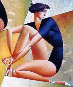 11- Cubisme russe de Georgy Kurasov - The Classics.