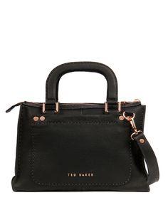 bb090c4a9d7677 Hickory Stab Stich Bag Handtassen Ted Baker Verkrijgbaar in 2 kleuren.  (€299
