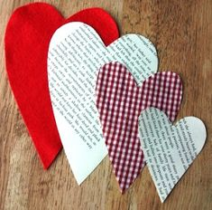Handmade Harbour: Make a Simple Hanging Heart
