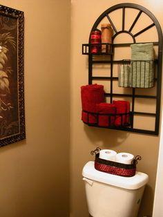 tropical bathroom by Anita Diaz for Far Above Rubies
