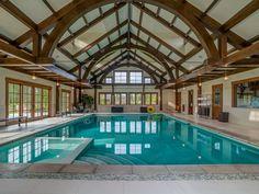 Love this #amazing indoor swimming pool