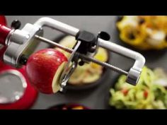 How to Use Your KitchenAid Spiralizer Attachment - YouTube