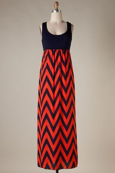 GAME DAY GLAM Orange Navy Blue Dress Auburn Tigers- Shop Simply Me –boutique – www.SHOPSIMPLYME.com - #ishopsimplyme – Naples, FL