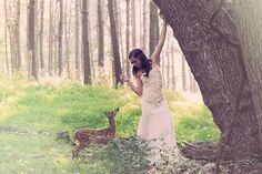 EmmyLee14 Девочка и ее олененок — история необычного питомца