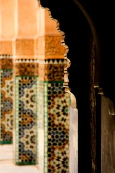 Colorful Islamic Architecture