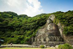 Great Buddha being just that  Nokogiriyama, Chiba, Japan