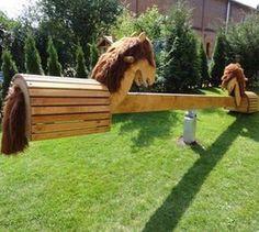 Play Garden for KidsAmazing Play Garden for Kids Pferde-Wippe - versandkostenfrei! SaddleRack Horse Designs Hand Crafted From Solid Wood