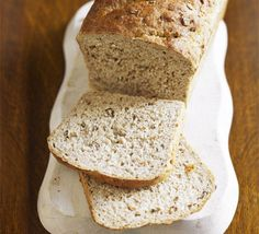 Bread in four easy steps ~ Kids can help with this super-simple bread recipe. Use whichever flour you like, granary, wholemeal or white Super Easy Bread Recipe, Easy Bread Recipes, Bbc Good Food Recipes, Baking Recipes, Drink Recipes, Dessert Recipes, Health Recipes, Wholemeal Bread Recipe, Brown Bread Recipe