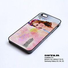 -Lana Del Rey Hard Custom Case For Iphone 5 5s LDR-1 | 5STAR - Accessories on ArtFire
