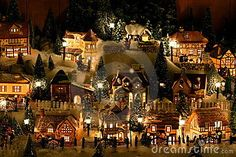I could be down for the mini christmas village.