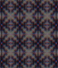 optical tribal print