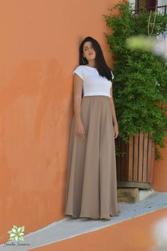 Mocha Skirt, Chiffon Skirt, Long Skirt, Women Skirt, Beige Skirt, Boho skirt, Prom Skirt, Skirts for women, Flower Girl, Wedding Party Skirt Long Chiffon Skirt, Midi Skirt, Beige Skirt, Bohemian Skirt, Brown Skirts, Party Skirt, Summer Skirts, Purple Yellow, White Tops