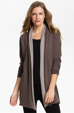 Premise Cashmere Two Tone Cardigan available at #Nordstrom