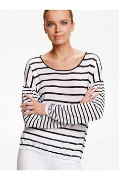 Knit stripe sweater - MELA PURDIE - Brands  A must for this Summer, a luxurious Italian Knit double stripe cruise sweater. #stripes #nauticalwear  https://www.ignazia.com.au/