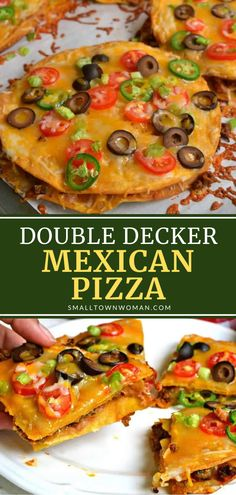 Mexican Pizza, Mexican Dishes, Mexican Food Recipes, Beef Recipes, Cooking Recipes, Pizza Recipes, Flatbread Recipes, Quesadilla Recipes, Pizza