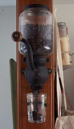 Handgrinder for coffee.  Want this for my office!