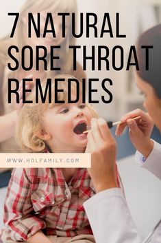 The next time you come down with a cough or sore throat, reach for one of these 7 natural and safe remedies! They will help suppress a bad cough and ease the pain of a raw, irritated throat. #naturalremedies #coldcures #holfamily Sore Throat And Cough, Sore Throat Remedies, Sooth Sore Throat, Natural Parenting, Gentle Parenting, Bad Cough, Cough Medicine, Natural Cold Remedies