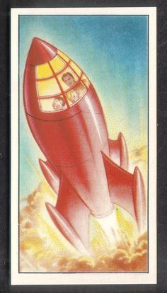 """Mischief Goes To Mars"" Trade Cards Wright's Biscuits South Shields, UK 1955. http://curiousobject.blogspot.co.uk/2012/05/mischief-goes-to-mars.html"