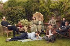 Made in Bloomsbury: on the set of must-see BBC drama Life in Squares | The Times