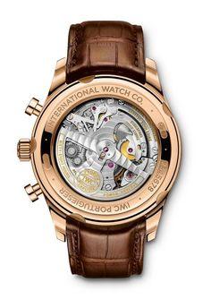 IWC Portugieser Chronograph Classic - back