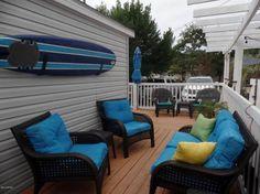 Gorgeous Single Wide Beach House - additions - decks