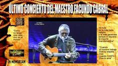 FACUNDO CABRAL - ÚLTIMO CONCIERTO - IN MEMORIAM  Así fue el ultimo concierto que realizó el maestro Facundo Cabral en el Teatro Roma de la Ciudad de Quetzaltenango, Guatemala, el jueves 7 de julio de 2011, un día antes de ser asesinado cuando iba rumbo al aeropuerto de esta ciudad.