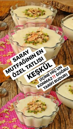Turkish Recipes, Ethnic Recipes, Delicious Desserts, Dessert Recipes, 34c, Beautiful Cakes, Food Art, Food And Drink, Cooking Recipes