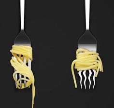 The Twister spaghetti fork is a cutlery classic, with a twist. This design aims to take the frustration out of the act of eating slippery Italian pasta.