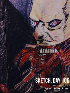 #sketchaday #artlove #penandink #nerds #art #sketchbook #artists #imayneednewglasses #pencils #acompanyofn3rds #sanctuary #n3rds #prismacolor #moleskine #camu #Blade #Reapers #vampires #horrorfan #horroraction #Marvel