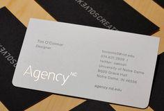 15 Beautifully Minimal Business Cards