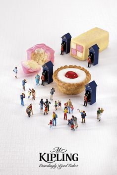 Excellent ad... Mr Kipling - Jubilee Celebrations 'Guards'