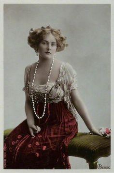 Belle Époque Europe Phyllis Le Grand by Rita Martin, c. 1905