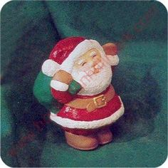 1995 Santa - Merry Miniature