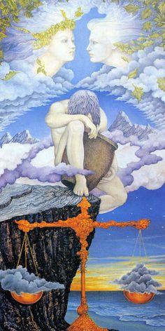 AstroSpirit / Gemini ♊ / Air / The Twins / Air: Gemini, Aquarius, Libra ~ Roger and Linda Garland