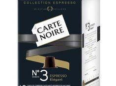 Mondelez to launch Carte Noire pods for Nespresso machines.
