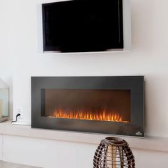 You'll love the McCall TV Stand with Electric Fireplace at Wayfair ...