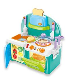 Mini Kitchen Playset with Sound And Color Changing For Real Cooking Mini Kitchen, Open Kitchen, Real Cooking, Cooking Tips, Social Skills For Kids, Oven Canning, Ride On Toys, Play Food, Served Up