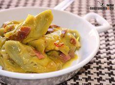 Alcachofas a la montillana Spanish Cuisine, Spanish Food, Nut Recipes, Healthy Recipes, Small Meals, Perfect Food, Kitchen Recipes, Tapas, Recipe Collection