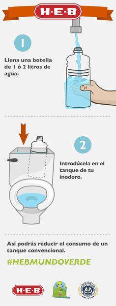#Tip para el Cuidado del Agua. #HEBMUNDOVERDE